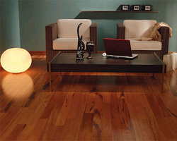 Restauration du plancher en bois