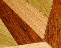 Réparation du plancher bois franc